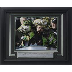 Philadelphia Eagles Framed 11x14 Super Bowl 52 LII Parade Custom Framed Photo Display