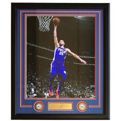 Ben Simmons Philadelphia 76ers 22x27 Custom Framed Photo Display