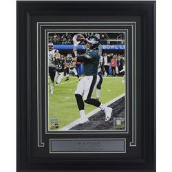 Nick Foles Philadelphia Eagles Super Bowl LII 14x17 Custom Framed Photo Display