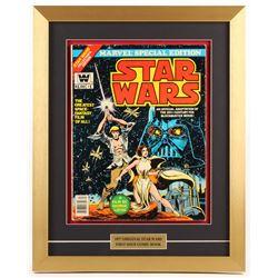 """Marvel Special Edition: Star Wars"" Issue #1 16x20 Custom Framed Comic Book Display"