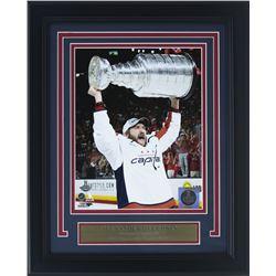 Alexander Ovechkin Washington Capitals 2018 Stanley Cup 11x14 Custom Framed Photo Display