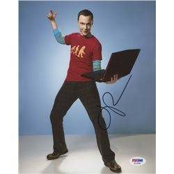 "Jim Parsons Signed ""The Big Bang Theory"" 8x10 Photo (PSA Hologram)"