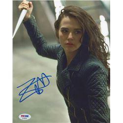 "Zoey Deutch Signed ""Vampire Academy"" 8x10 Photo (PSA COA)"