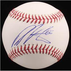 Dellin Betances Signed OML Baseball (PSA COA)