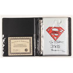 """LE Set of (5) """"The Adventures of Superman"""" Collection DC Comic Books Signed by (5) with Brett Breedi"""