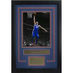 Ben Simmons Philadelphia 76ers 11x14 Custom Framed Photo Display with Laser Engraved Signature