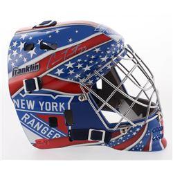 Cam Talbot Signed New York Rangers Full-Size Goalie Mask (Talbot COA)