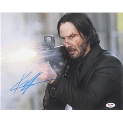 "Keanu Reeves Signed ""John Wick"" 11x14 Photo (PSA COA)"