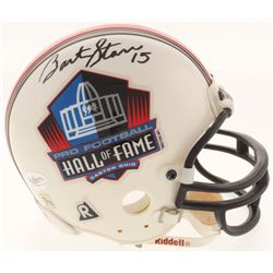 Bart Starr Signed Pro Football Hall of Fame Mini-Helmet (JSA COA)