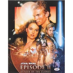 "Hayden Christensen Signed ""Star Wars: Episode II – Attack of the Clones"" 11x14 Photo (PSA COA)"
