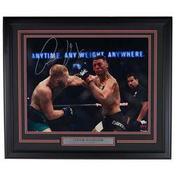 Conor McGregor Signed 22x27 Custom Framed Photo Display (Fanatics Hologram)