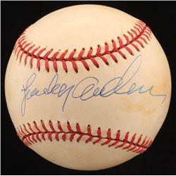 Sparky Anderson Signed ONL Baseball (Beckett COA)