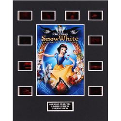 """Disney's """"Snow White and the Seven Dwarfs"""" LE 8x10 Custom Matted Original Film / Movie Cell Display"""