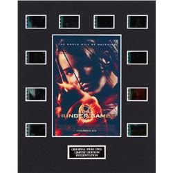 """""""The Hunger Games"""" LE 8x10 Custom Matted Original Film / Movie Cell Display"""