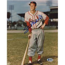 Stan Musial Signed St. Louis Cardinals 8x10 Photo (Beckett COA)