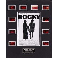 """""""Rocky"""" LE 8x10 Custom Matted Original Film / Movie Cell Display"""