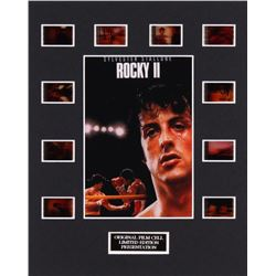 """""""Rocky II"""" LE 8x10 Custom Matted Original Film / Movie Cell Display"""
