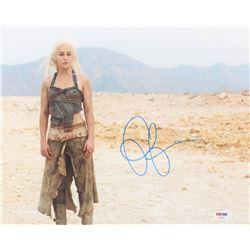"Emilia Clarke Signed ""Game of Thrones"" 11x14 Photo (PSA COA)"