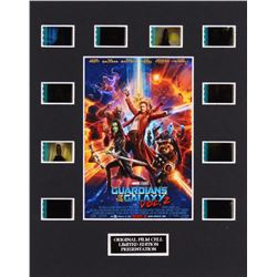 """""""Guardians of the Galaxy Vol. 2"""" LE 8x10 Custom Matted Original Film / Movie Cell Display"""