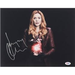 "Elizabeth Olsen Signed ""The Avengers"" 11x14 Photo (PSA COA)"