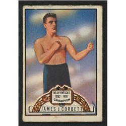 1951 Topps Ringside #59 James J. Corbett