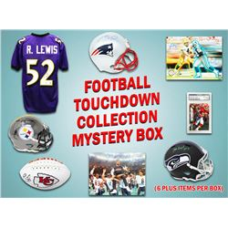 Football TOUCHDOWN Mystery Box - Series 1 (Limited to 100) (6+ Autograph Items per Box)