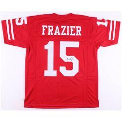 Tommie Frazier Signed Nebraska Cornhuskers Jersey (JSA COA)