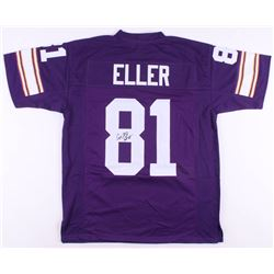 "Carl Eller Signed Minnesota Vikings Jersey Inscribed ""HOF 04"" (JSA COA)"