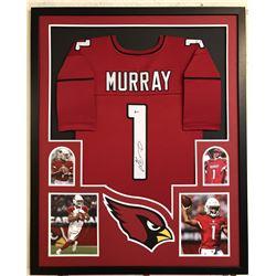 Kyler Murray Signed Arizona Cardinals 34x42 Custom Framed Jersey (Beckett COA)