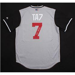 "Tim Anderson Signed Chicago White Sox ""TA7"" Jersey (Schwartz COA)"