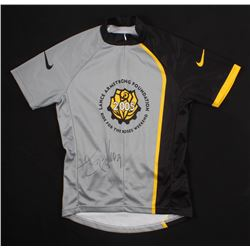 Lance Armstrong Signed 2005 Lance Armstrong Foundation Cycling Jersey (Schwartz COA)