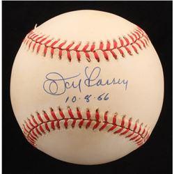 """Don Larsen Signed OAL Baseball Inscribed """"10-8-56"""" (Beckett COA)"""