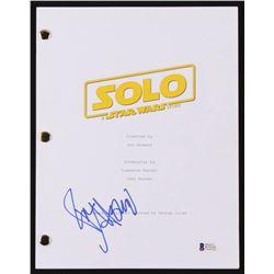 "Ron Howard Signed ""Solo: A Star Wars Story"" Movie Script (Beckett COA)"
