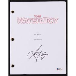 "Adam Sandler Signed ""The Waterboy"" Movie Script (Beckett COA)"