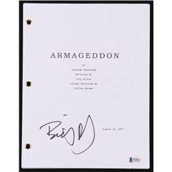 """Billy Bob Thornton Signed """"Armageddon"""" Movie Script (Beckett COA)"""