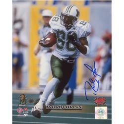 Randy Moss Signed Marshall Thundering Herd 8x10 Photo (Your Sports Memorabilia Store COA  Moss Holog