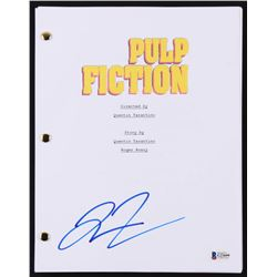 "Quentin Tarantino Signed ""Pulp Fiction"" Movie Script (Becket Hologram)"