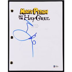"Eric Idle Signed ""Monty Python And The Holy Grail"" Script (Beckett COA)"