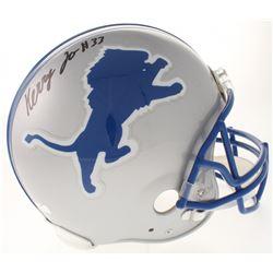 Kerryon Johnson Signed Detroit Tigers Full-Size Authentic On-Field Throwback Helmet (Radtke COA)
