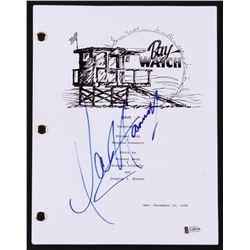 """David Hasselhoff Signed """"Baywatch"""" Script (Beckett COA)"""
