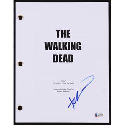 """Robert Kirkman Signed """"The Walking Dead"""" Pilot Script (Beckett COA)"""