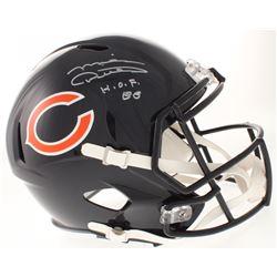 "Mike Ditka Signed Chicago Bears Full-Size Speed Helmet Inscribed ""H.O.F. 88"" (Radtke COA)"