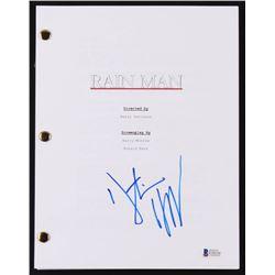 "Dustin Hoffman Signed ""Rain Man"" Movie Script (Beckett COA)"