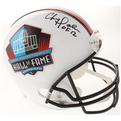 "Chris Doleman Signed Pro Football Hall of Fame Full-Size Helmet Inscribed ""HOF 12"" (Radtke COA)"