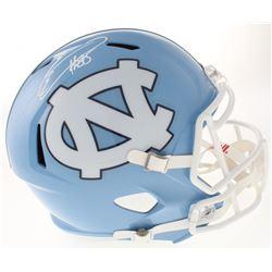 Eric Ebron Signed North Carolina Tar Heels Full-Size Speed Helmet (Radtke COA)