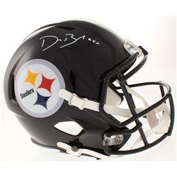 Devin Bush Signed Pittsburgh Steelers Full-Size Speed Helmet (Radtke COA)