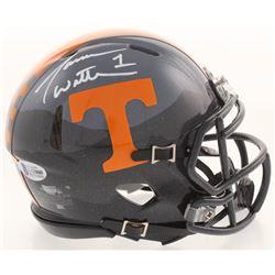 Jason Witten Signed Tennessee Volunteers Speed Mini Helmet (Beckett COA  Witten Hologram)