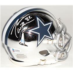 Jason Witten Signed Dallas Cowboys Chrome Speed Mini Helmet (Beckett COA  Witten Hologram)