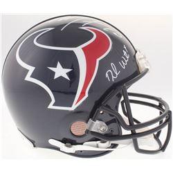 Deshaun Watson  DeAndre Hopkins Signed Houston Texans Full-Size Authentic On-Field Helmet (JSA COA)