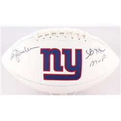 "Ottis Anderson Signed New York Giants Logo Football Inscribed ""SBXXI MVP"" (JSA COA)"